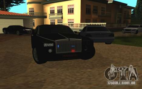 Rolls-Royce Phantom v2.0 para GTA San Andreas vista direita