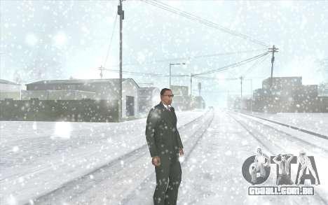 Snow San Andreas 2011 HQ - SA:MP 1.1 para GTA San Andreas quinto tela