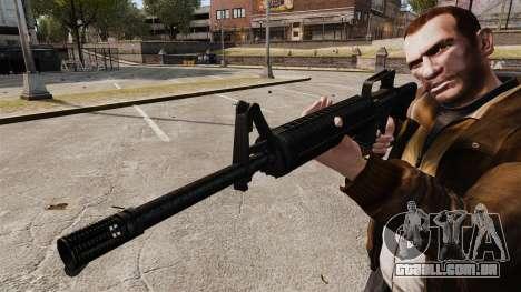M16 A2 para GTA 4 por diante tela