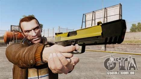 Carregamento automático pistola USP H & K v4 para GTA 4 terceira tela