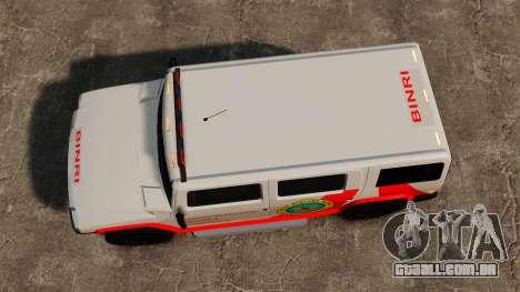 Nova coloração Patriot Noose para GTA 4 vista direita