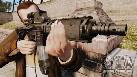 Carabina M4 CQC no estilo de Modern Warfare para GTA 4 terceira tela