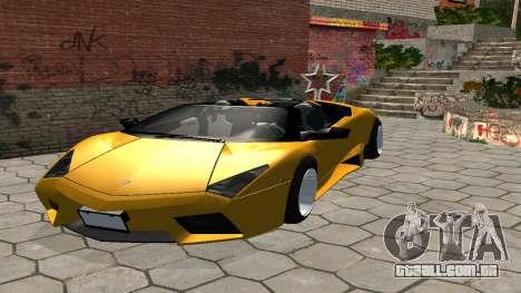 Lamborghini Reventon Shakotan para GTA San Andreas