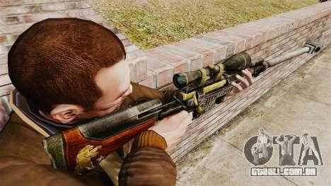 Fuzil anti-material para GTA 4 segundo screenshot