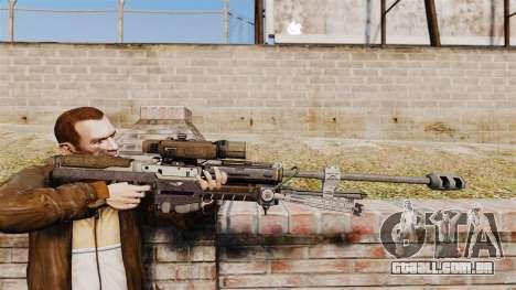 Halo Reach espingarda SRS 99 para GTA 4