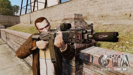 MM118 automático AK para GTA 4