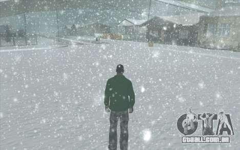 Snow San Andreas 2011 HQ - SA:MP 1.1 para GTA San Andreas décima primeira imagem de tela