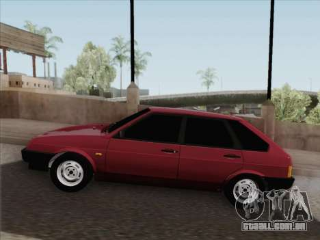 VAZ 21093i para GTA San Andreas vista inferior
