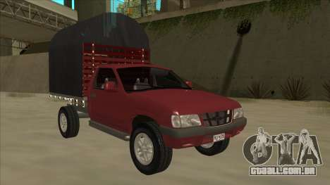 Chevrolet Luv 2.500 diesel para GTA San Andreas esquerda vista