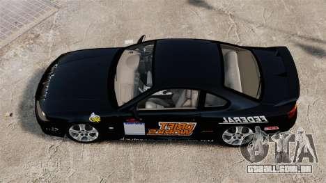 Nissan Silvia S15 v4 para GTA 4 vista direita