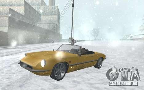 Snow San Andreas 2011 HQ - SA:MP 1.1 para GTA San Andreas oitavo tela