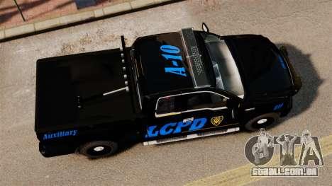 Ford F-150 v3.3 LCPD Auxiliary [ELS & EPM] v2 para GTA 4 vista direita