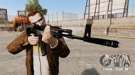 Kalashnikov AK-12 para GTA 4 terceira tela