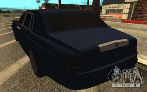 Rolls-Royce Phantom para GTA San Andreas vista inferior