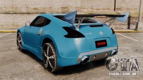 Nissan 370Z Tuning para GTA 4