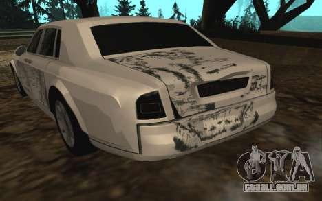 Rolls-Royce Phantom v2.0 para GTA San Andreas vista inferior