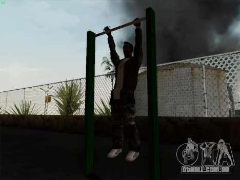 Barra horizontal para GTA San Andreas