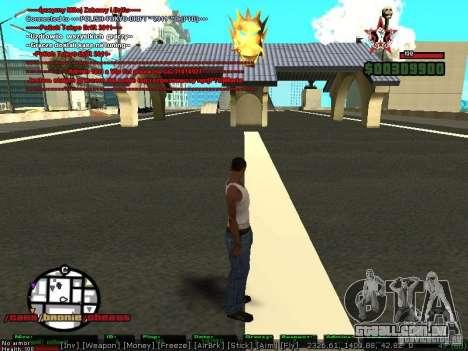 Sobeit 4.2.2.1 (2011) [RUS] para GTA San Andreas segunda tela