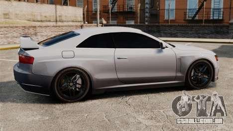 Audi S5 EmreAKIN Edition para GTA 4 esquerda vista