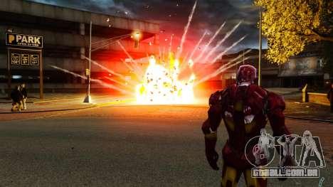 Ferro homem IV v 2.0 para GTA 4 sexto tela
