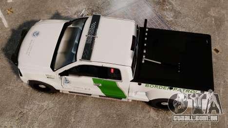Ford F-150 v3.3 Border Patrol [ELS & EPM] v1 para GTA 4 vista direita