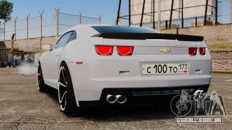 Chevrolet Camaro ZL1 2012 para GTA 4