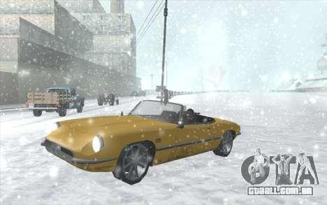 Snow San Andreas 2011 HQ - SA:MP 1.1 para GTA San Andreas nono tela