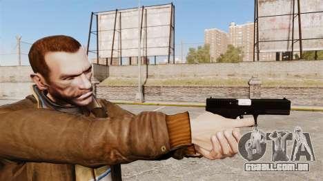 Autocarregáveis v2 de pistola Glock 17 para GTA 4