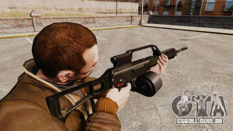 Fuzil de assalto de H & K MG36 v1 para GTA 4 segundo screenshot
