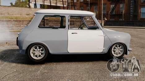 Mini Cooper S 1968 para GTA 4 esquerda vista