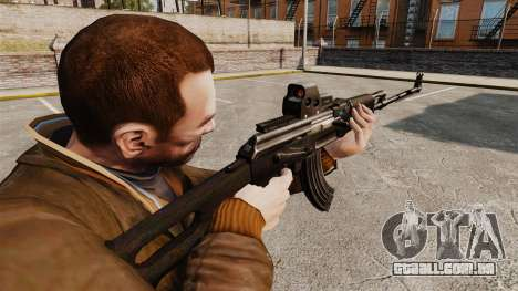 Metralhadora leve de Kalashnikov para GTA 4