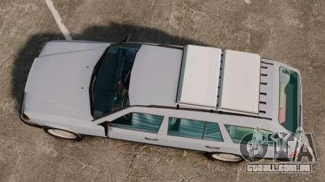 Mercedes-Benz W124 Wagon (S124) para GTA 4 vista direita