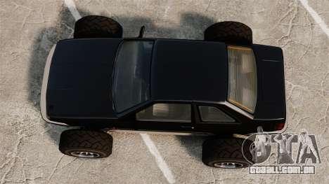 Futo-buggy para GTA 4 vista direita