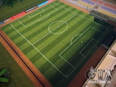 Campo de futebol para GTA San Andreas por diante tela