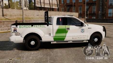 Ford F-150 v3.3 Border Patrol [ELS & EPM] v1 para GTA 4 esquerda vista