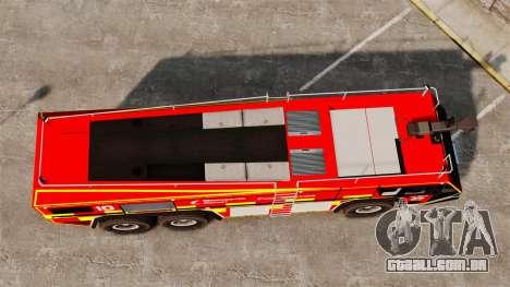 Camion Hydramax AERV v2.4-EX Manchester para GTA 4 vista de volta