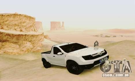 Dacia Duster Pick-up para GTA San Andreas