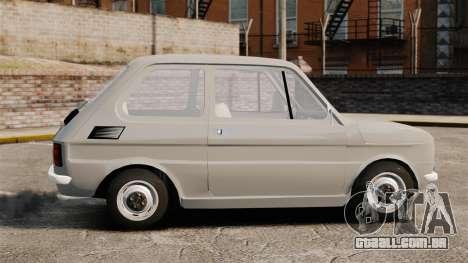 Fiat 126 v1.1 para GTA 4 esquerda vista