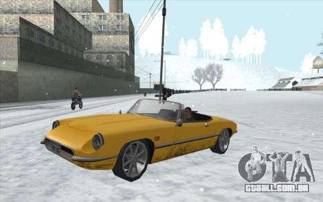 Snow San Andreas 2011 HQ - SA:MP 1.1 para GTA San Andreas sétima tela