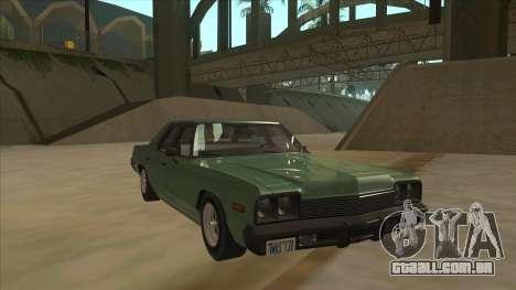 Dodge Monaco V10 para GTA San Andreas esquerda vista