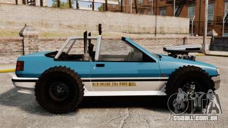Jeep Futo Final para GTA 4 esquerda vista