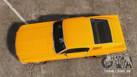 Ford Mustang 1967 Classic para GTA 4 vista direita