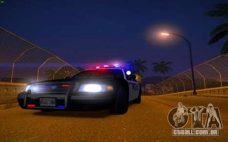 ENBS V3 para GTA San Andreas décimo tela