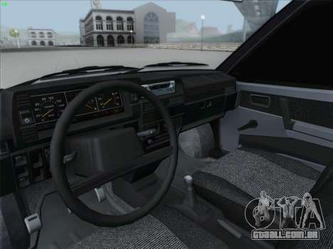 VAZ 21093i para o motor de GTA San Andreas