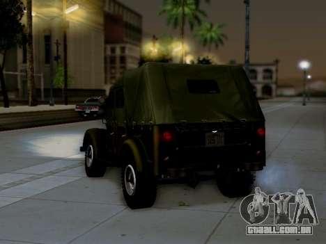 UAZ-69A para GTA San Andreas