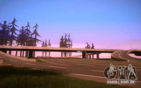 ENBS V3 para GTA San Andreas nono tela