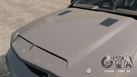 Ford Mustang Shelby GT500 2008 para GTA 4 vista direita