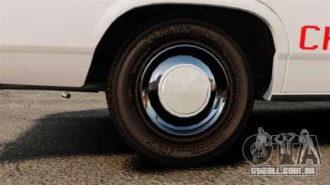 Ford LTD Crown Victoria 1987 [ELS] para GTA 4 vista de volta