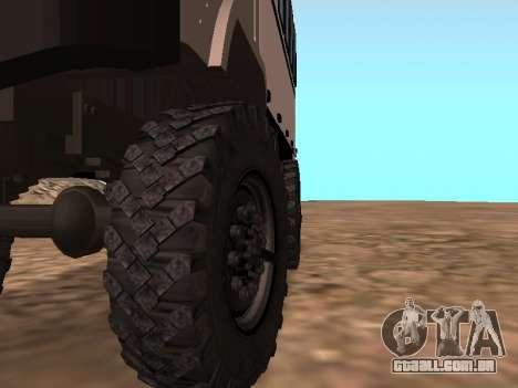 GAZ 66 assistir para vista lateral GTA San Andreas