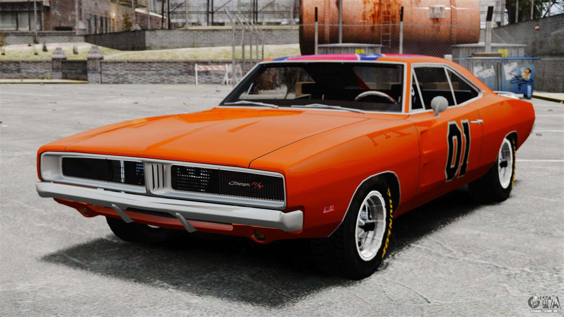 dodge charger 1969 general lee v2 para gta 4. Black Bedroom Furniture Sets. Home Design Ideas